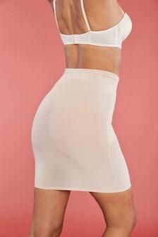 Моделирующая нижняя юбка с сильным утягивающим эффектом и стрингами