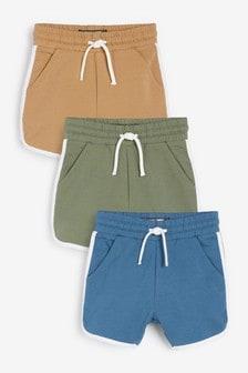 3 Pack Jersey Runner Shorts (3mths-7yrs)