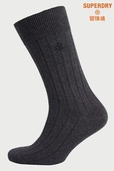 Superdry休閒羅紋襪子