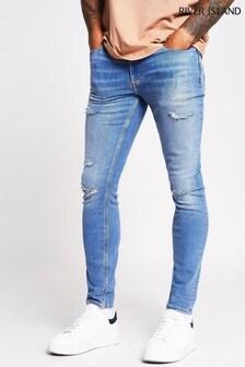 River Island Light Skinny Jeans