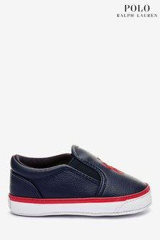 Ralph Lauren Navy Harbour Shoes