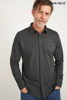 White Stuff Grey Montford Jersey Shirt