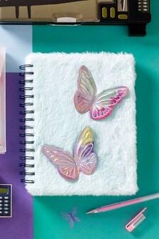 Fluffy Butterfly Notebook