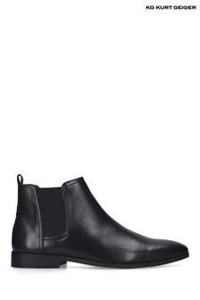 Kurt Geiger Black Croft Boots