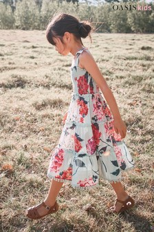 Oasis Ruffle Tiered Dress