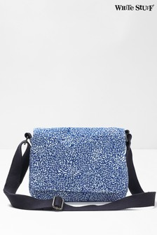 White Stuff Blue Hayley Holiday Crossbody Bag