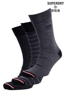 Superdry City Socken im 3er Pack