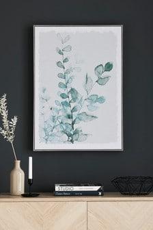 Oprawiony obraz z kwiatami