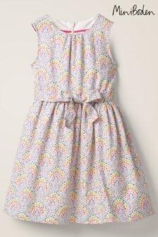 Boden Kleid in Vintageoptik, Elfenbeinfarben