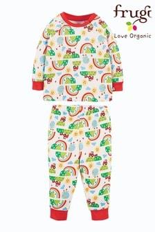 Frugi - Pyjama van biologisch katoen - Happy Days-print