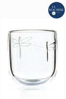 Set of 6 La Rochère Dragonfly Tumbler Glasses