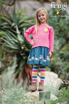 Frugi Organic Space Print Full Skirt