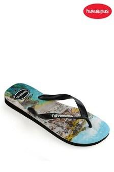 Havaianas® Mens Top Photoprint Flip Flops