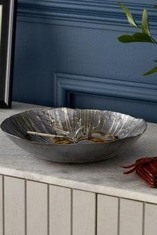 Metallic Glass Bowl