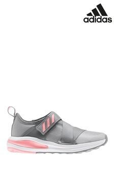 adidas Run Grey/Pink FortaRun Junior & Youth Trainers