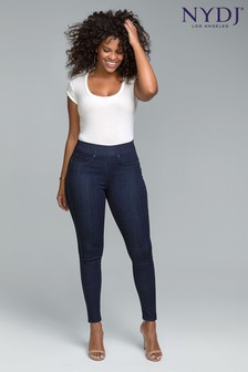 NYDJ Blue Curves 360 Sculpt Pull-On Denim Leggings