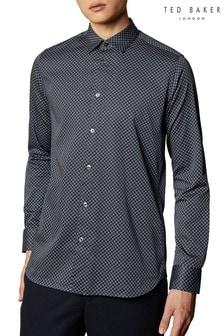 Рубашка с геометрическим принтом Ted Baker Flynow