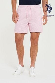 U.S. Polo Assn. Pink Deck Shorts