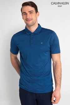 Polo de rayas Shadow de Calvin Klein Golf
