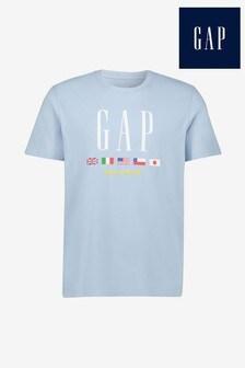 Camiseta azul de Gap
