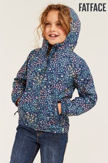 FatFace Blue Butterfly Meadow Cagoule