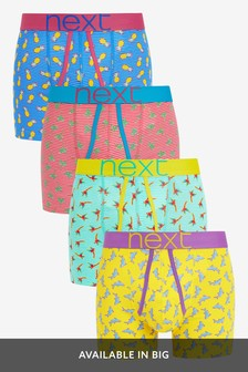 Conversational Print A-Fronts Four Pack