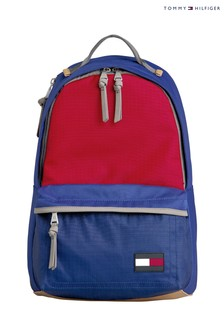 Tommy Hilfiger Blue Nautical Nylon Backpack