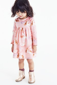 Трикотажное платье (3 мес.-7 лет)