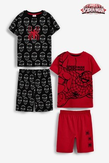 Lot de 2 pyjamas courts (12 mois - 12 ans)