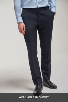 Twill 100% Wool Tailored Fit Suit: Jacket