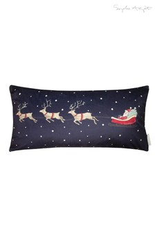 Sophie Allport Home For Christmas Feather Filled Cushion