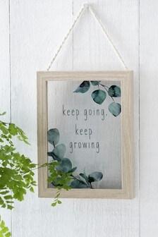 Botanical Hanging Frame