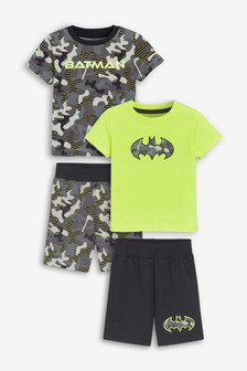 2 Pack Batman® Short Pyjamas (9mths-8yrs)