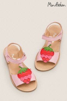 Mini Boden Pink Holiday Sandals
