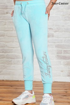Juicy Couture Luxe Velour Diamanté Joggers