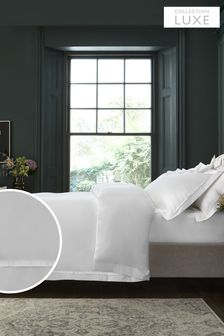 1000 Thread Count 100% Cotton Sateen Collection Luxe Duvet Cover and Pillowcase Set