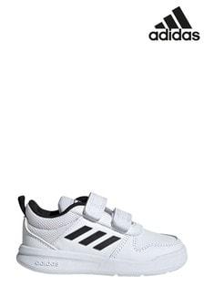 Белые/черные кроссовки на липучках для малышейadidas Tensaur