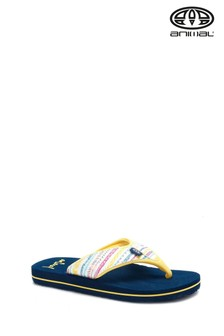 Animal Multicolour Swish Upper All Over Print Flip Flops