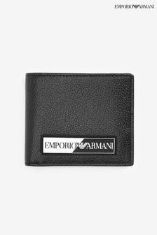 Emporio Armani Mono兩折皮夾