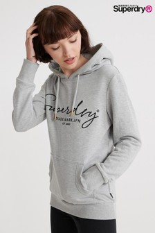 Superdry Grey Alice Overhead Hoody