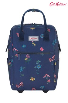Cath Kidston® Twilight Sprig Frame Wheeled Backpack
