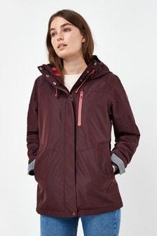 Jachetă impermeabilă cu blocuri de culoare