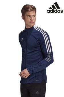 חולצת ספורטTiro21 בצבע כחולכהה כהה שלadidas