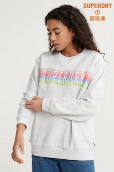 Superdry Grey Crew Sweatshirt