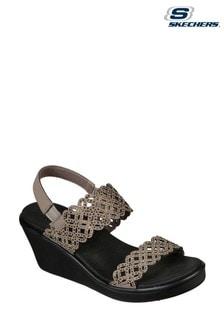 Skechers® Brown Rumble On Sassy Dayz Sandals