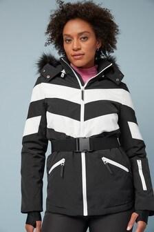Лыжная куртка с поясом