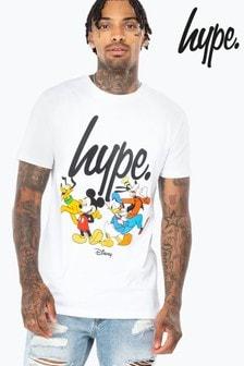 Hype. Disney™ Squad Script Men's T-Shirt