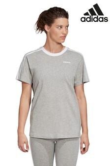 Серая футболка must-have в стиле бойфренда adidas Fit