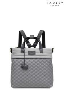 Radley London Penton Mews Mittelgroßer Rucksack mit Blockfarben, grau