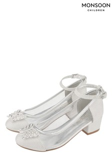 Chaussures de princesse Monsoon Larissa motif papillon